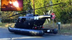 Speedycopter, o antigo helicóptero que virou carro (anfíbio) e teve um final trágico