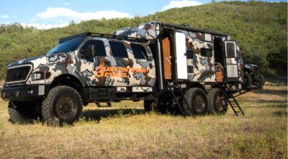 Para viagens extremas, esse é o veículo perfeito com tração 6×6 (Vídeo mostra essa máquina em ação)