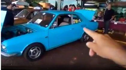 Só poderia ser no Brasil: Esse é o Corcel com DOIS MOTORES (e dois câmbios diferentes)