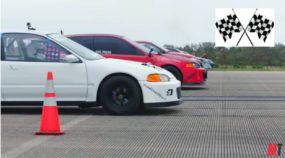 VTEC em fúria! Oito Honda Civic preparados (aspirados e turbinados) se enfrentam na arrancada