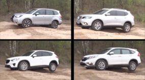 Comparativo SUV's