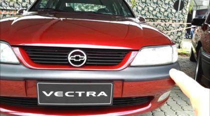 Raridade: Com apenas 226 km, veja esse clássico Vectra CD em estado de zero após 20 anos