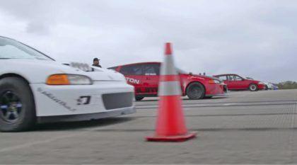 VTEC para ver e ouvir! Oito Honda Civic preparados (aspirados e turbinados) se enfrentam na arrancada
