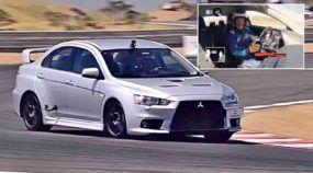 Mito japonês (de 500 cv) voa com Barrichello: Veja a volta rápida desse Mitsubishi Lancer Evolution X