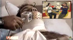 Logo na estreia na F1, Senna marcou ponto heroicamente (mas exausto, precisou da ajuda do Galvão e Reginaldo para sair do carro e foi hospitalizado)