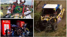 É vitória do Brasil no Rally Dakar! Pilotos Varela e Gugelmin ficam com título na categoria UTV