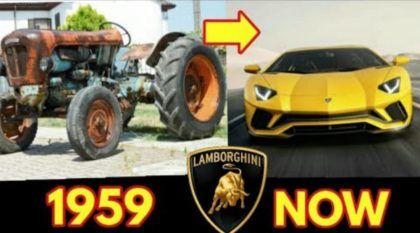 A fenomenal evolução e a história da Lamborghini vistas de um jeito divertido e diferente