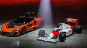 Veja o primeiro vídeo do novo McLaren Senna em ação (ao lado de uma lenda das pistas)