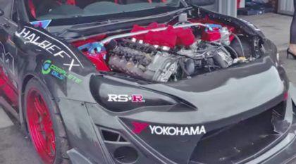 Que tal colocar um motor V10 de BMW M5 em um Toyota GT86 idealizado para track day? Ótima ideia!