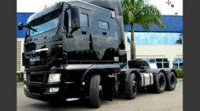 Para encarar a criminalidade no Brasil, MAN apresenta novo caminhão TGX blindado (e intimidador)