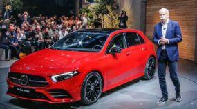 Lançamento: Revelado o novo Mercedes-Benz Classe A (com apelo mais esportivo, muita tecnologia e segurança)