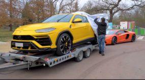 Novo Lamborghini Urus revelado de perto e por dentro nesse Vídeo Unboxing (ouça o ronco)