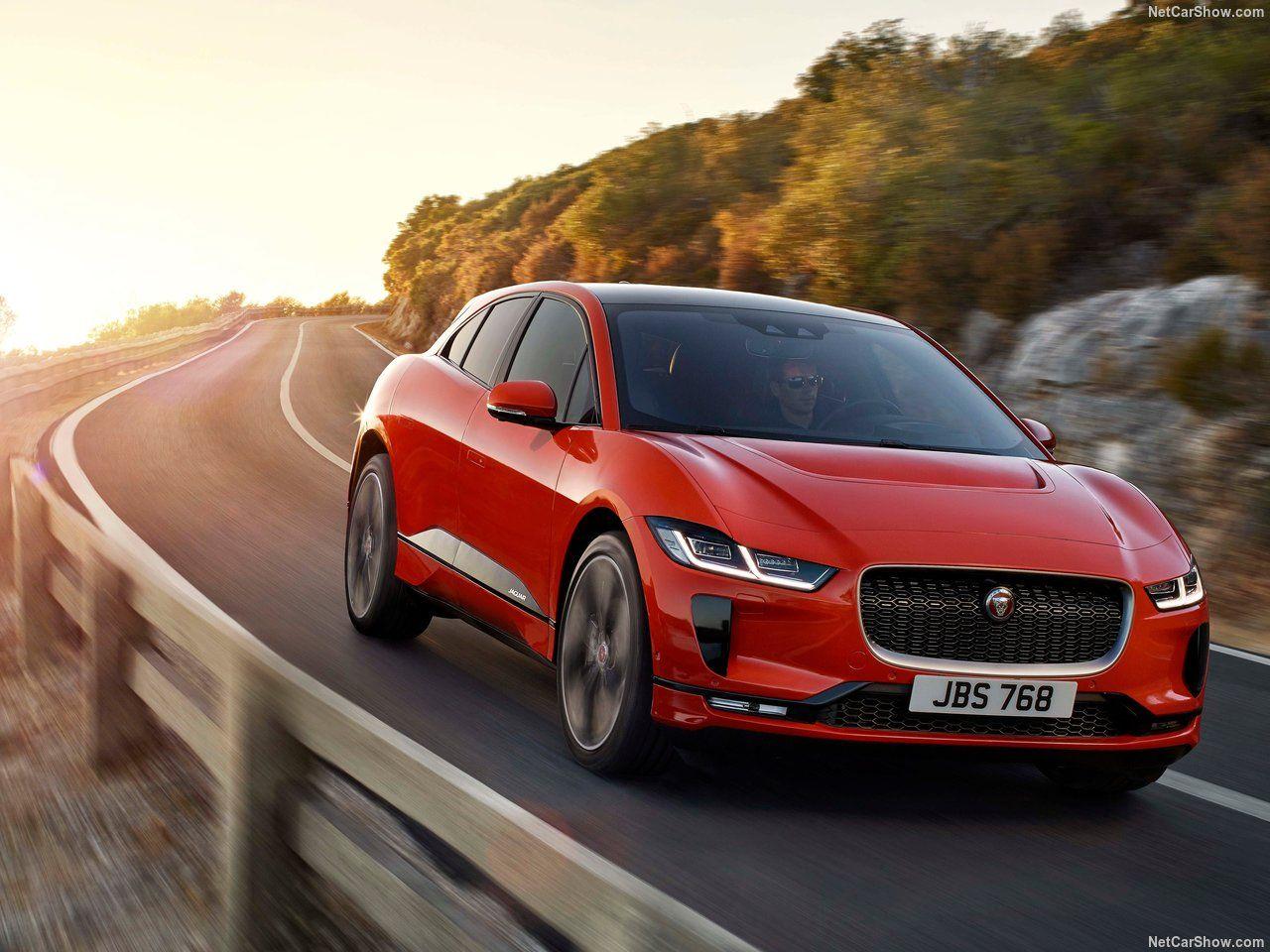 Jaguar-I-Pace carro elétrico na estrada