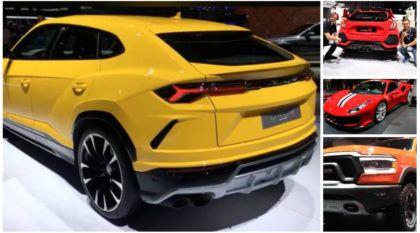 Salão de Genebra 2018 (dia 3): Ferrari 488 Pista, Lamborghini Urus, Koenigsegg Regera e muito mais