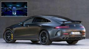 Mercedes AMG GT 4 portas: Lançamento espetacular para a briga contra Porsche Panamera