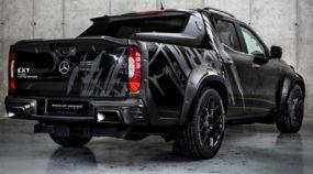 Brutalidade ou esportividade? Veja agora dois projetos insanos de customização da nova picape Mercedes-Benz Classe X. Você prefere o pacote Off-Road ou Esportivo?