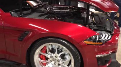 Esse é o Mustang com 1000 cavalos: Vídeos revelam de perto o Shelby Mustang 1000