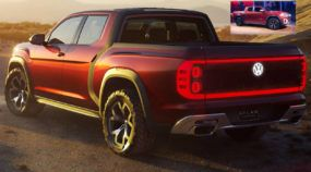 Nova Picape Volkswagen: Veja de perto a surpreendente Atlas Tanoak (maior que a Amarok)