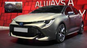 Design do novo Toyota Corolla (incluindo o interior) é revelado e antecipado na sua versão hatch