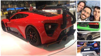 Salão de Genebra 2018 (dia 7): Audi R8 V10 Plus, novo Renault Duster, Subaru WRX STI e muito mais