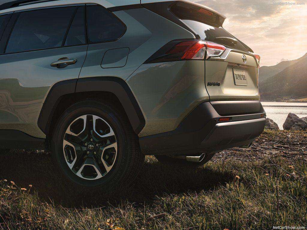 Traseira do novo Toyota RAV4 2019