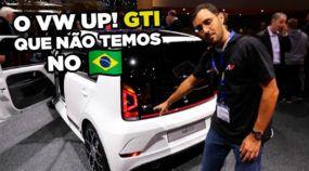 Esse é o VW Up! GTI (com porta estranha) que não temos no Brasil