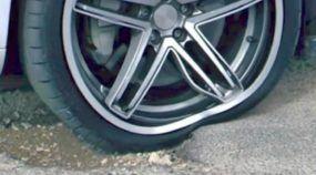 Roda flexível Michelin sistema Acorus não estraga as rodas e pneus
