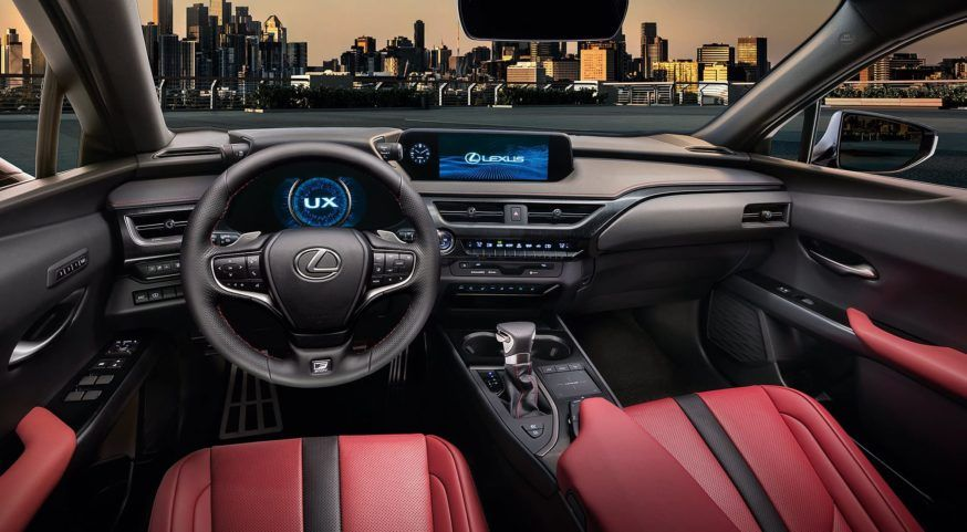 Interior é ponto forte do Lexus UX