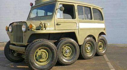 Jeep Willys 8×8: Será o Jipe mais divertido (e simpático) do mundo?