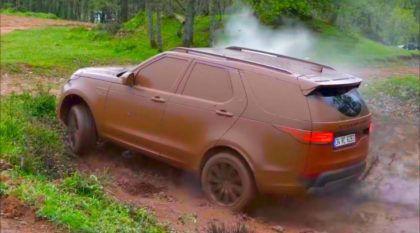 Land Rover na lama: Vídeo reúne flagras insanos dos modelos no Off-Road