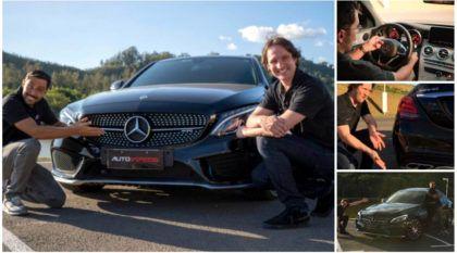 Novidade: Veja agora o TopView do AutoVideos com Mercedes-AMG C43 (com fabuloso motor V6 biturbo)