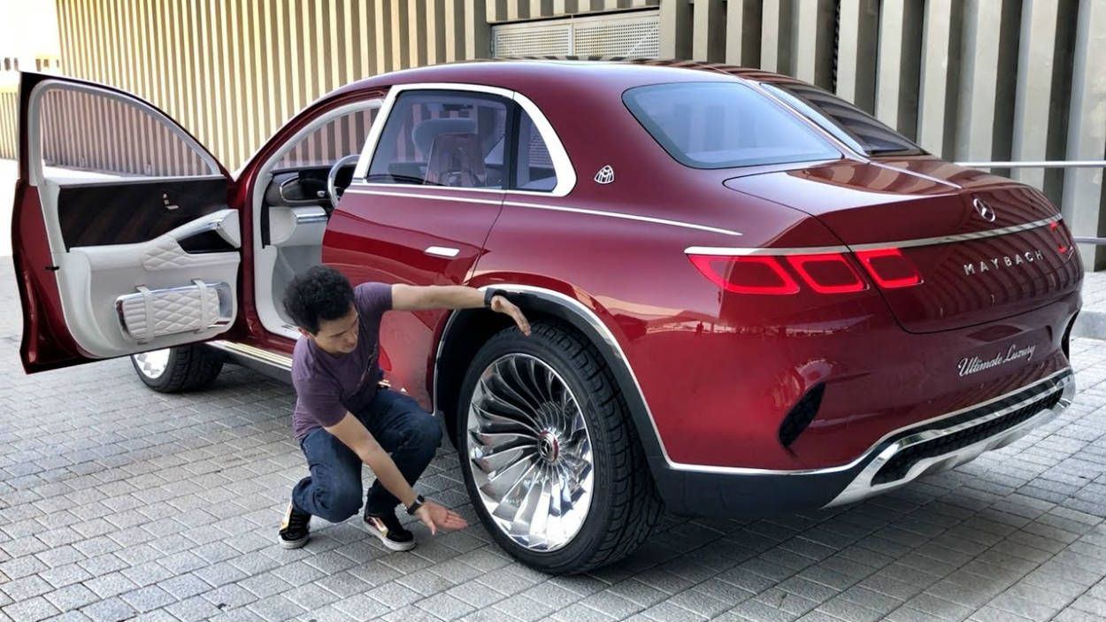 Vision Mercedes Maybach Ultimate Luxury Veja O Primeiro E Estranho