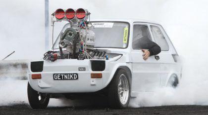 Fiat 126 de burnout: o Fiat de competição mais insano do mundo