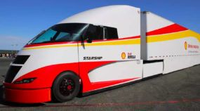 Shell and AirFlow Truck Company Built a 'Hyper Fuel-Efficient' Semi