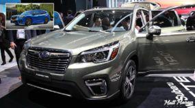 Lançamento: Essa é a nova geração do Subaru Forester (com mais tecnologia mas design conservador)