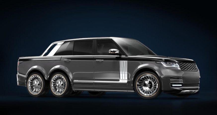 Range Rover picape 6x6