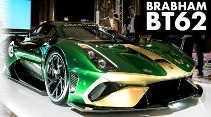 Brabham BT62: superesportivo de R$ 5 milhões tem motor V8 e 710 cv