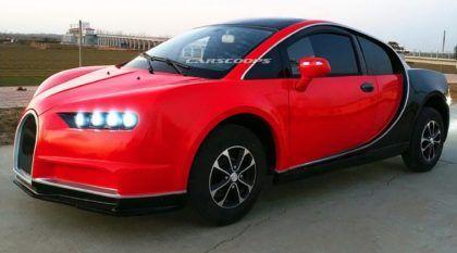 Bugatti Chiron Elétrico: mais uma réplica (ou quase isso) criada na China