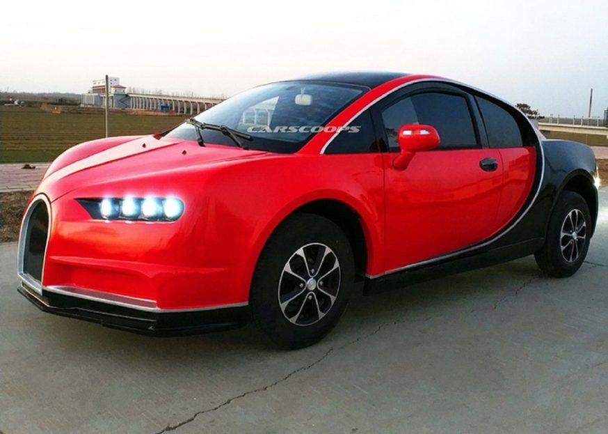 Bugatti Chiron Elétrico