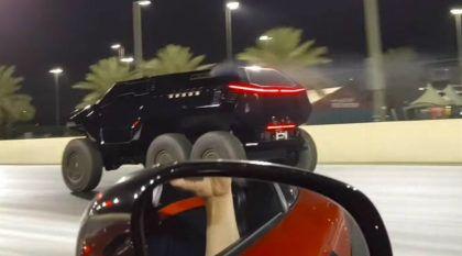 Devel Sixty 6×6: o brutal SUV com habilidades e desempenho de Supercarro