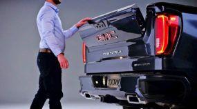 GMC Sierra 2019: Nova geração mais brutal e primeira picape com caçamba em fibra de carbono