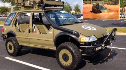 War Wagon: o incrível Honda Civic Militar criado por um cidadão cansado da mesmice