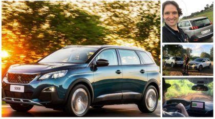 Peugeot 5008: Veja de Perto e de Carona o novo e belíssimo SUV de sete lugares (a partir de R$ 157.490)