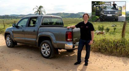 Amarok V6: A picape média mais rápida e potente do Brasil (como você nunca viu, no AutoVideos)