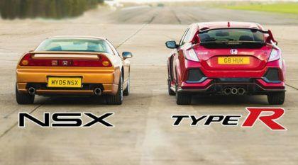 Civic Type R e NSX: lendas da Honda se enfrentam na pista (na hora da verdade)