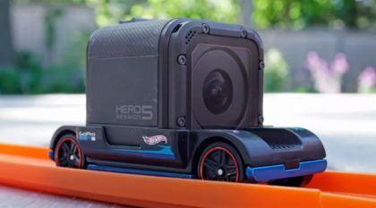 Zoom in: o carrinho da Hot Wheels que leva uma GoPro a bordo