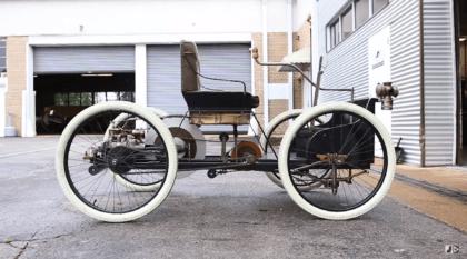 Ford Quadricycle: o primeiro carro construído pela Ford