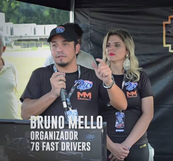 Bruno Mello e Liza Feichas, 76 Fast Trivers