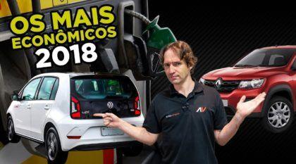 Liam Mattera mostra os carros mais econômicos do Brasil em 2018