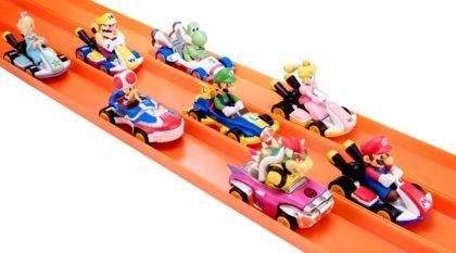 Hot Wheels e Mario Kart